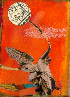 Mixed-media Collage Journaling